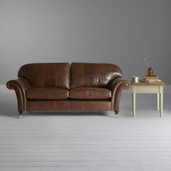 Drummond Grand Leather Sofa 3 Seater Covers John Lewis Beaumont At