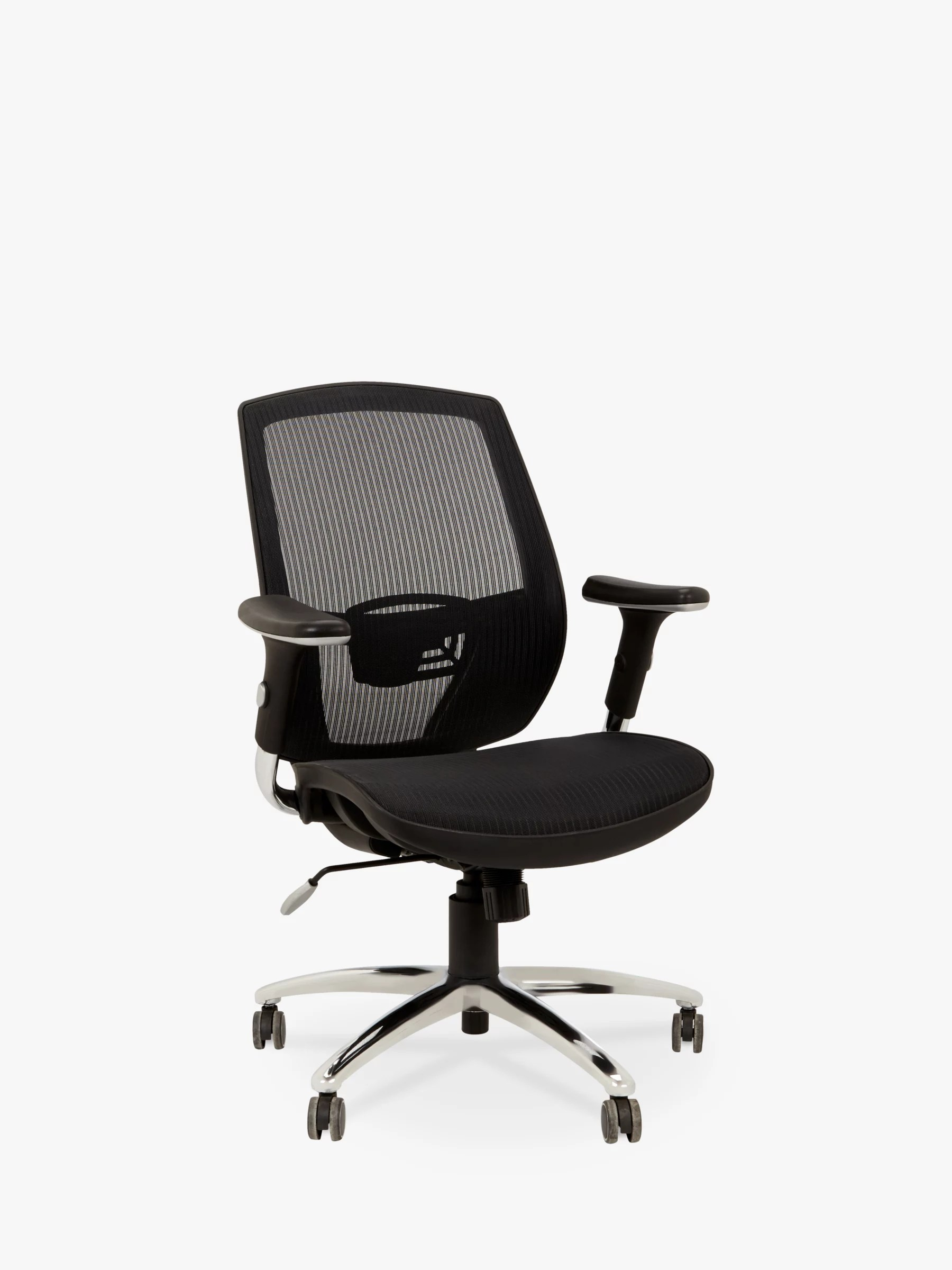 Comfortable Office Chairs John Lewis And Partners Murray Ergonomic Office Chair Black