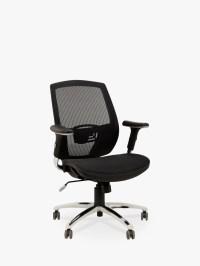 John Lewis Murray Ergonomic Office Chair, Black at John Lewis