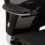John Lewis Partners Murray Ergonomic Office Chair Black