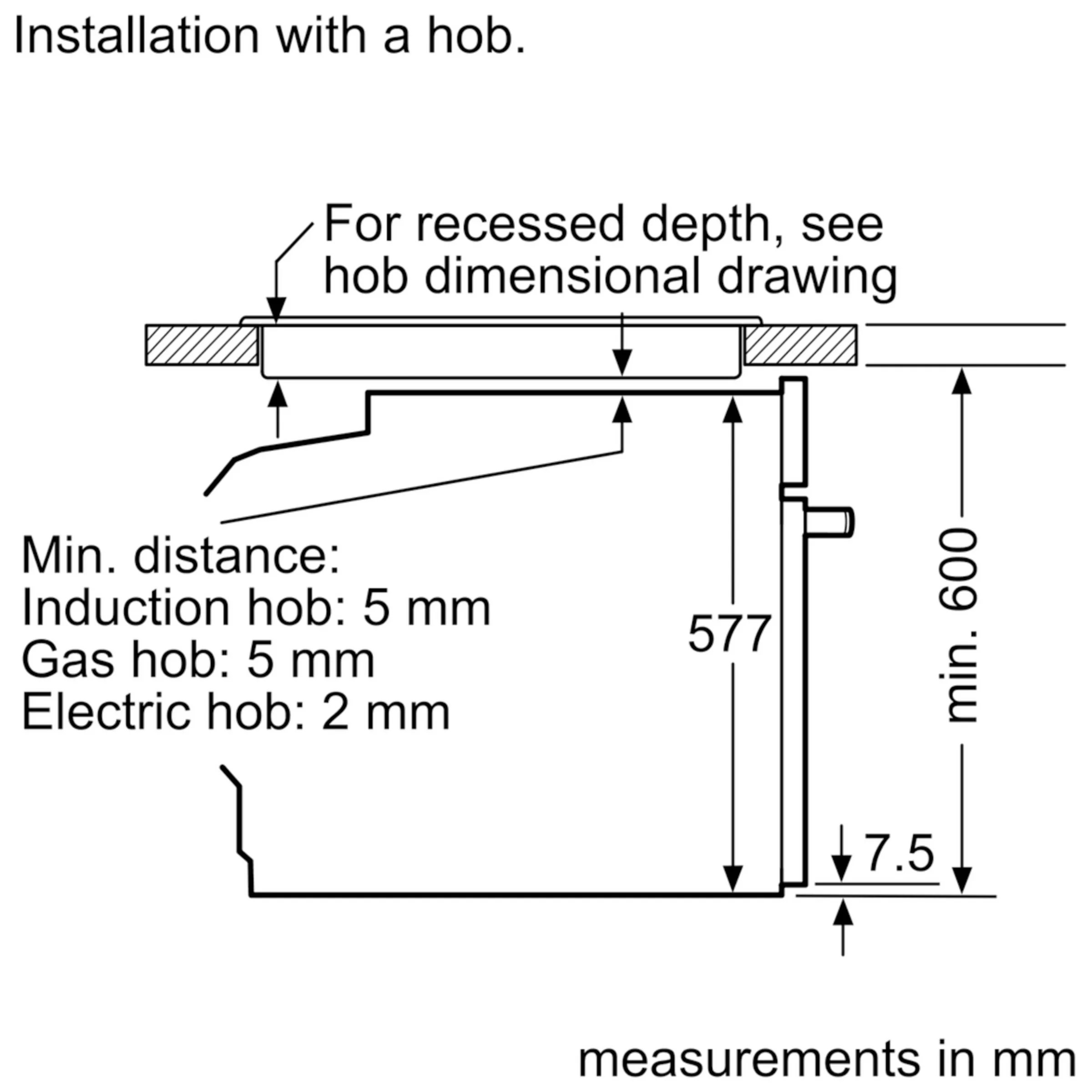 hight resolution of neff b57vs24n0b slide and hide single electric oven with steam hob uk neff induction hob wiring diagram