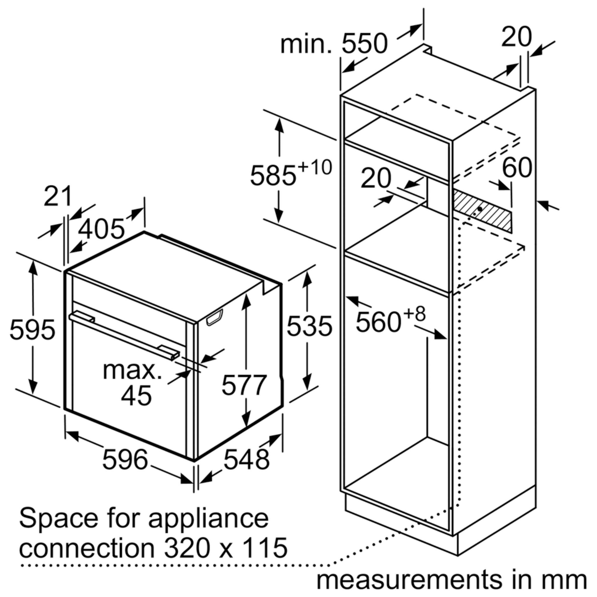 buyneff b57vr22n0b slide and hide single electric oven stainless steel online at johnlewis com  [ 1440 x 1920 Pixel ]