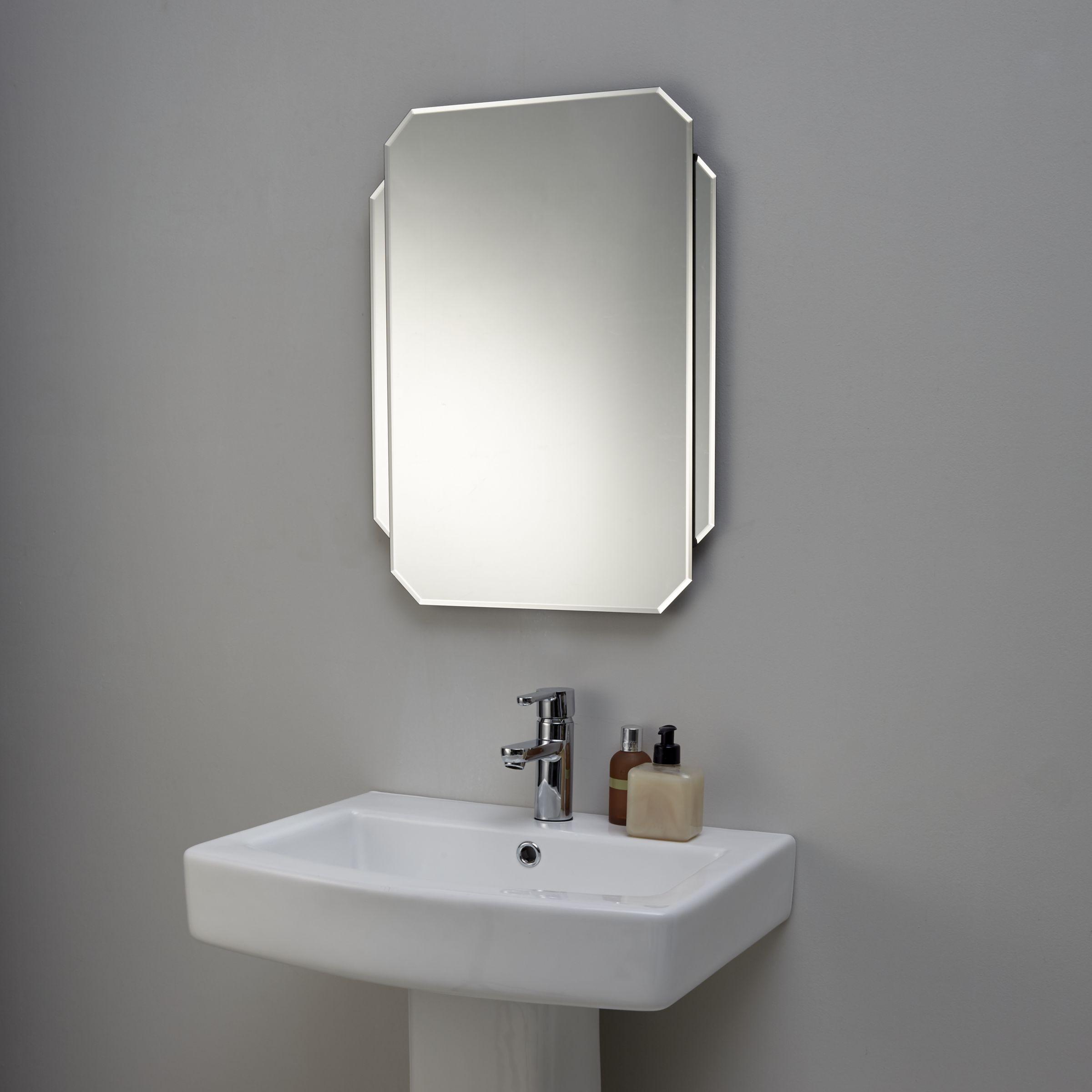 Buy John Lewis Deco Glass Wall Mirror  John Lewis