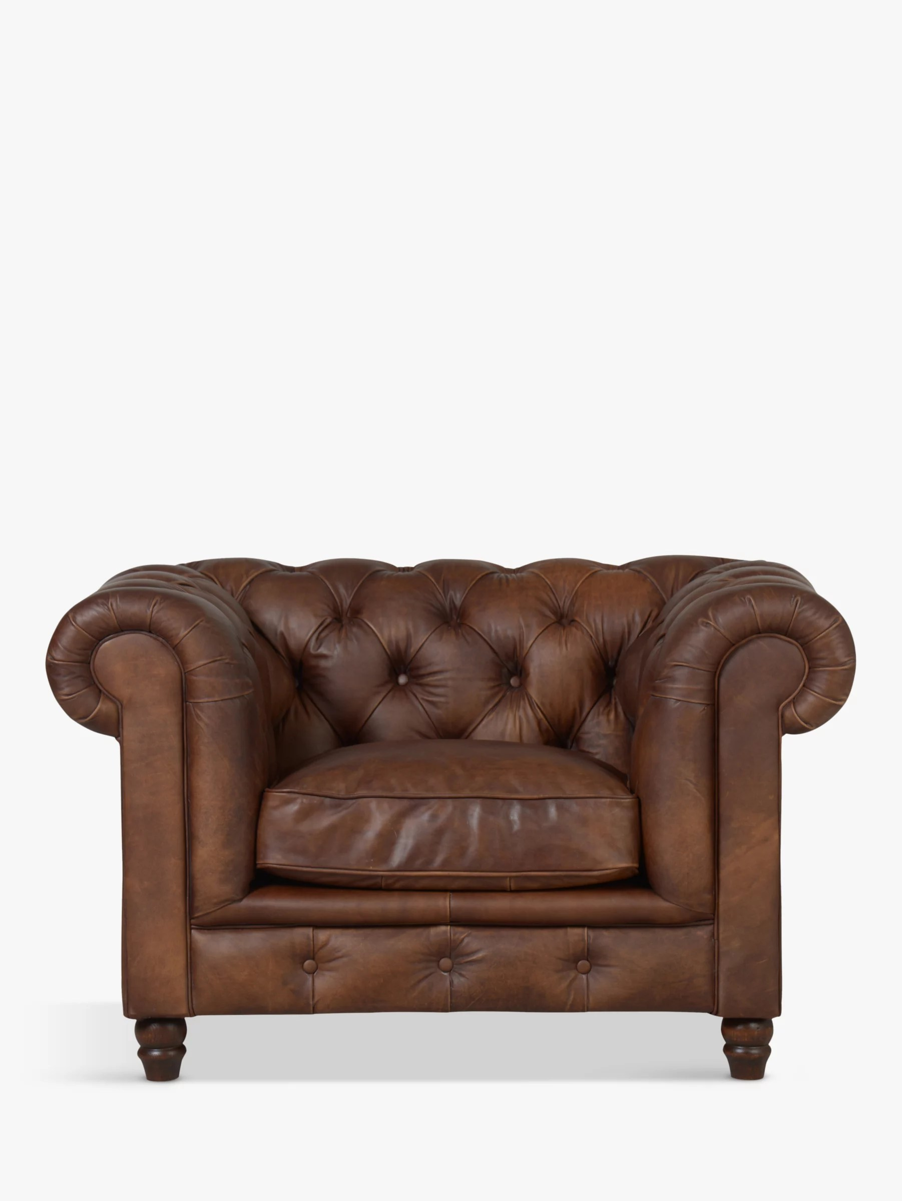 chesterfield sofa london second hand manufacturers in south wales sofas leather john lewis halo earle aniline armchair antique whisky