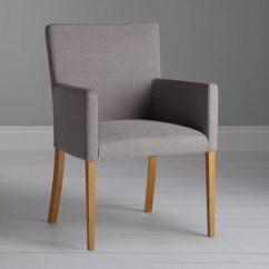 Dining Chair Seat Covers John Lewis Leather Chairs Of Bath Ibsen Helene Glacia Grey At