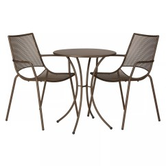 Outdoor Bistro Table And Chairs Set Picnic Time Chair John Lewis Ala Mesh Garden