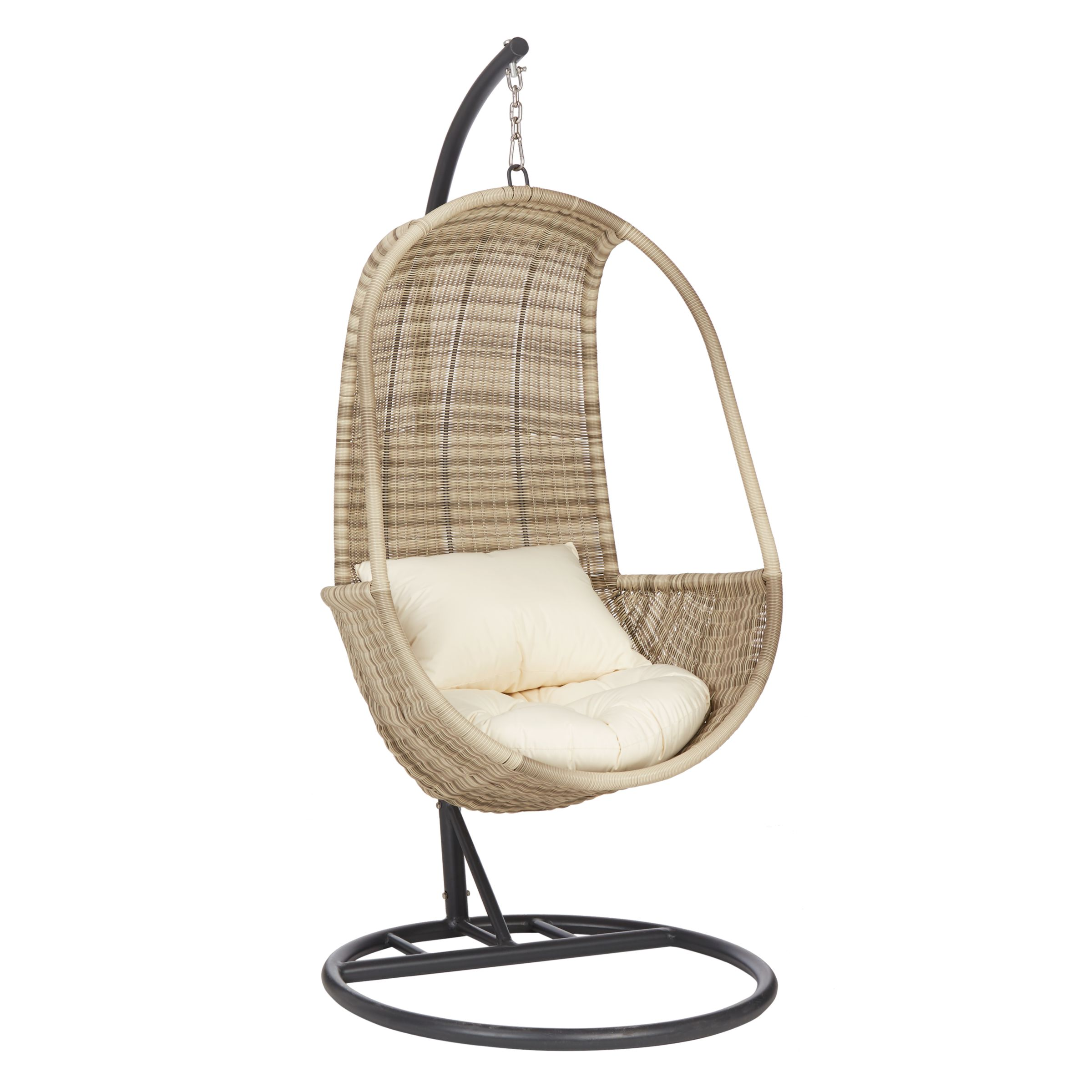 Wicker Egg Chairs For Sale John Lewis Partners Dante Pod Hanging Chair At John Lewis Partners