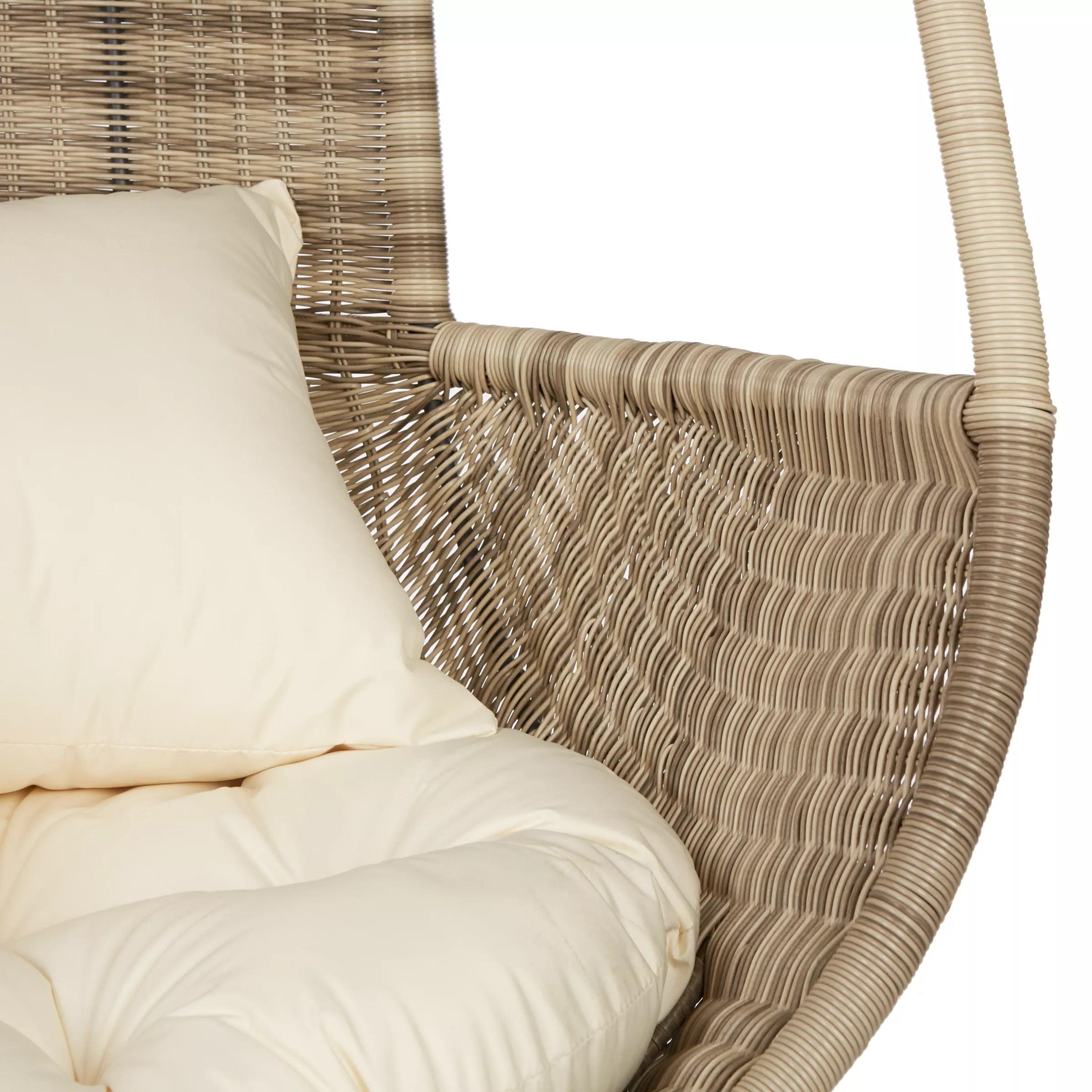 hanging chair qatar covers white spandex buy john lewis dante pod  