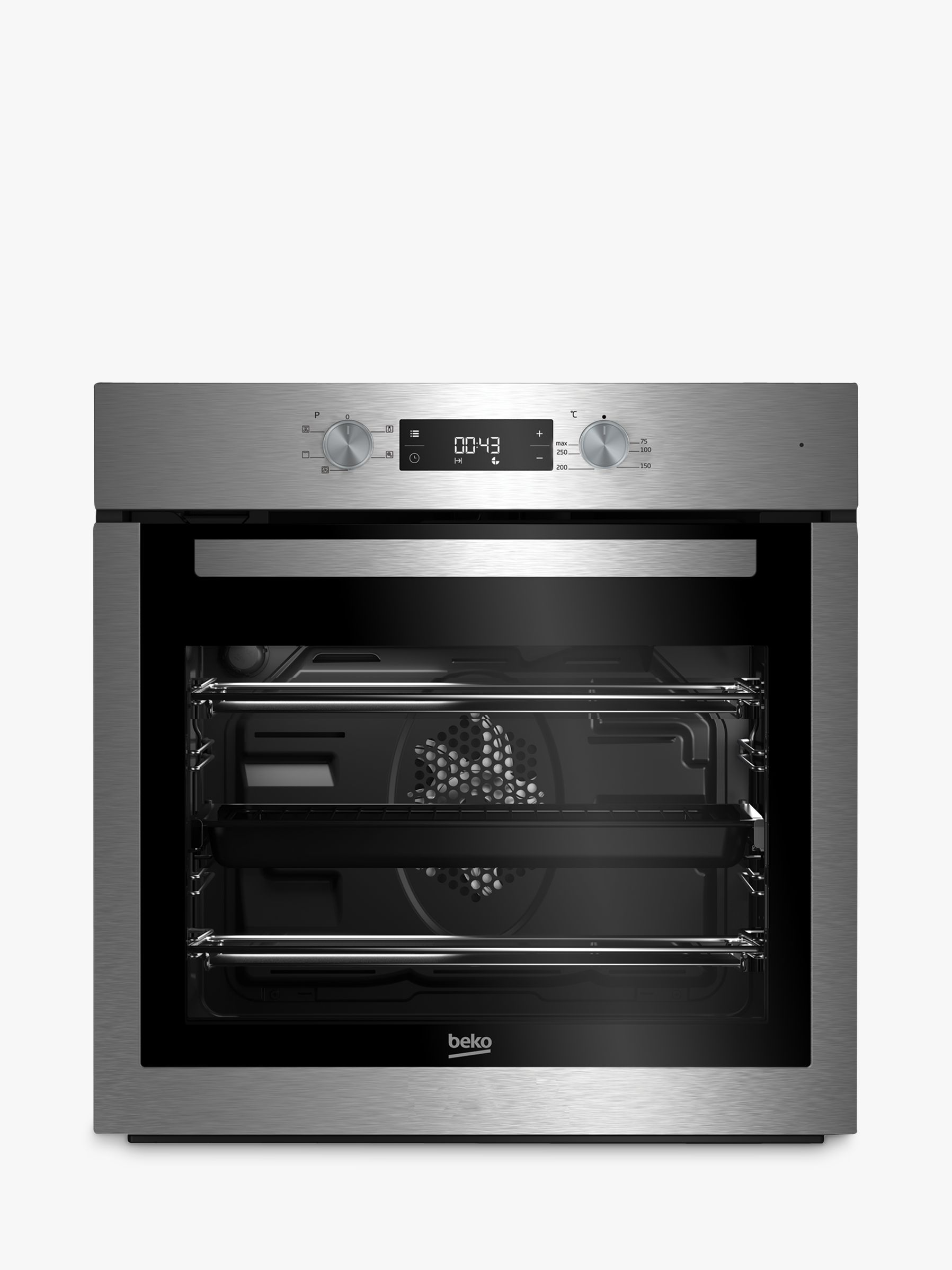 beko oven wiring diagram philips advance metal halide ballast bif16300x built in single stainless steel at john lewis buybeko online johnlewis com