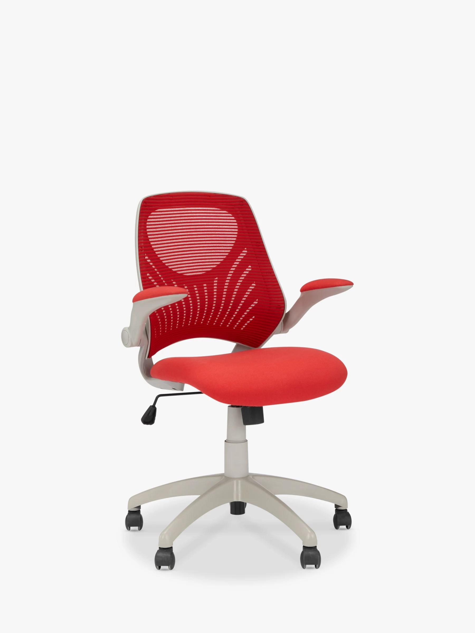 office chair red grey and ottoman house by john lewis hinton at