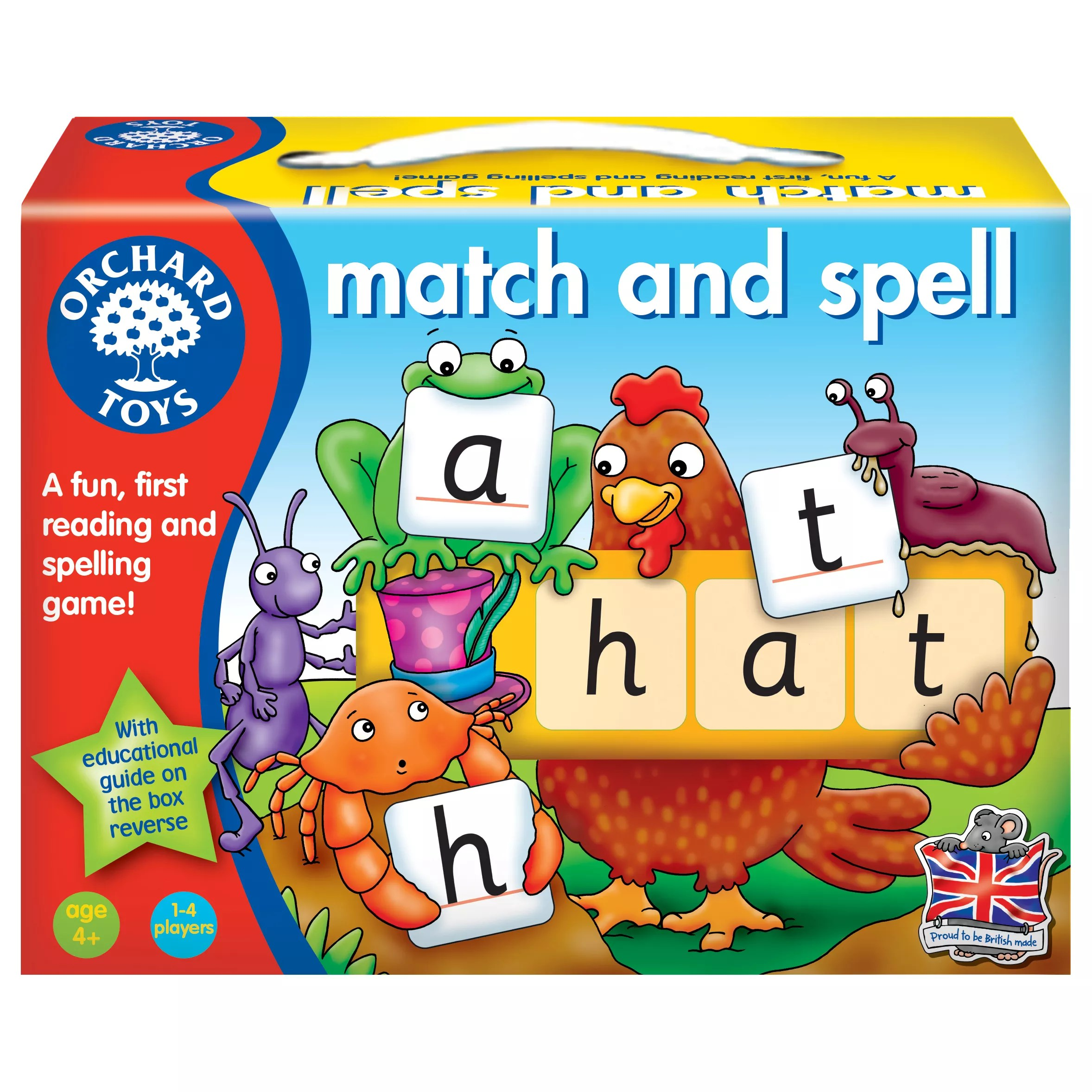 Orchard Toys Match Spell Game At John Lewis