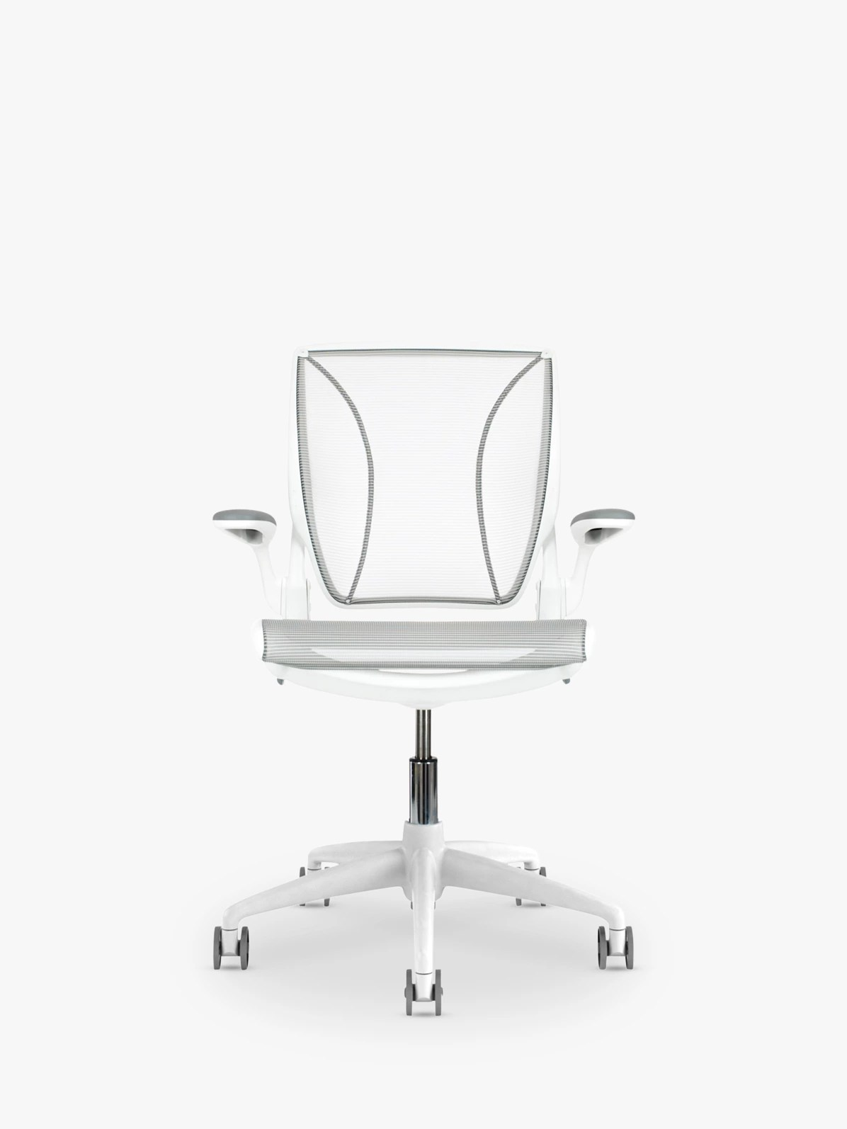 humanscale diffrient world chair white beige accent chairs with arms office at john lewis