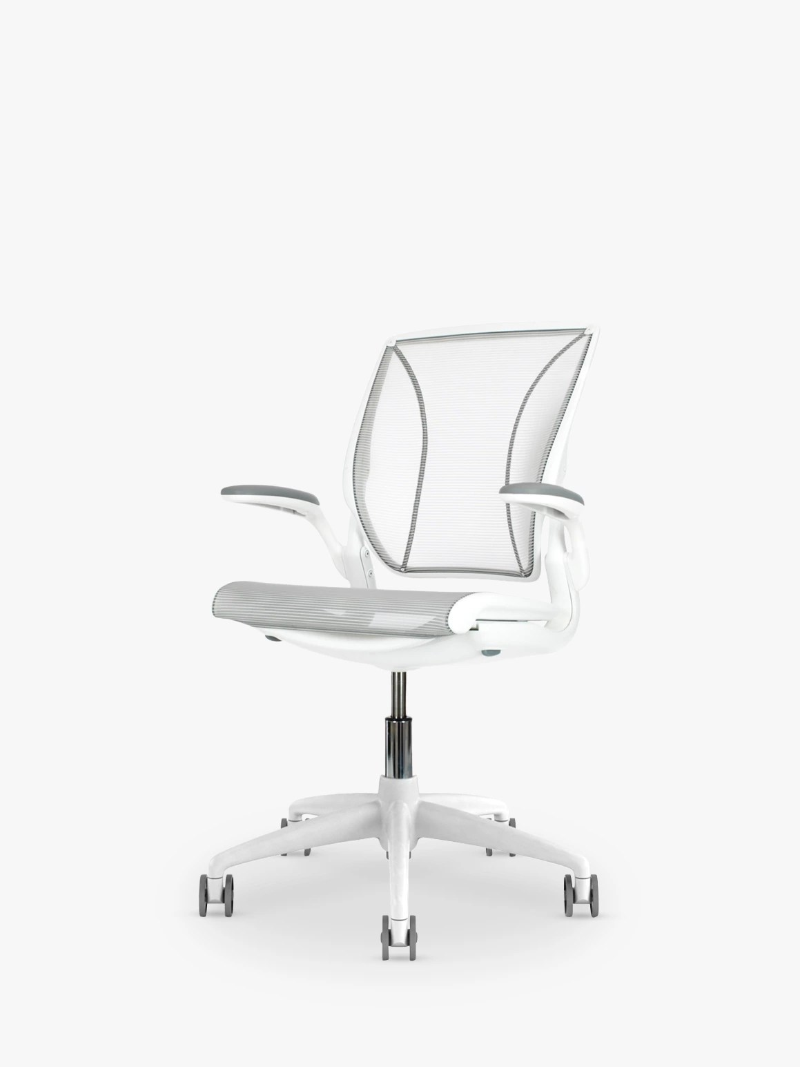 humanscale diffrient world chair white comfy lounge office at john lewis