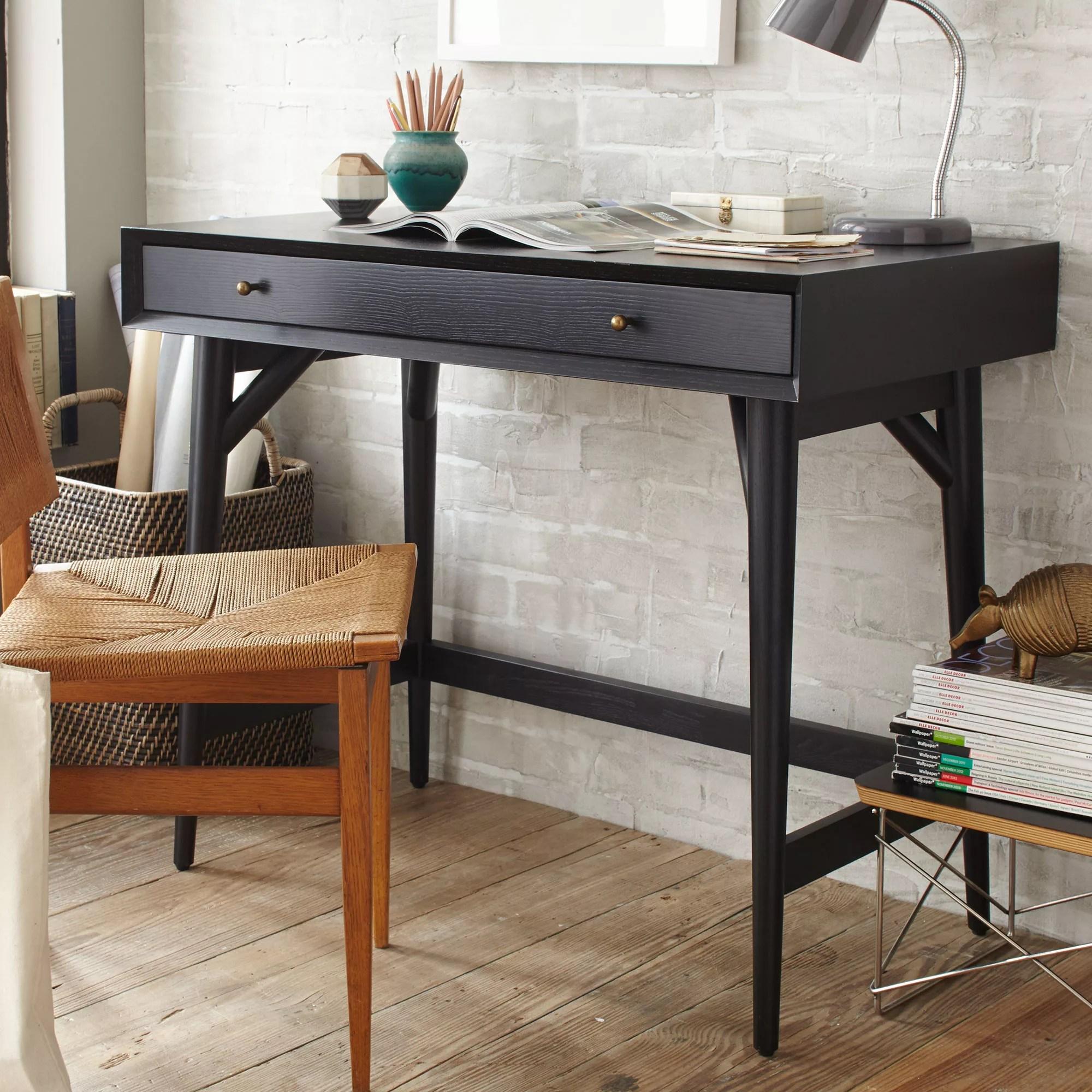 West Elm Mid Century Mini Desk At John Lewis Partners
