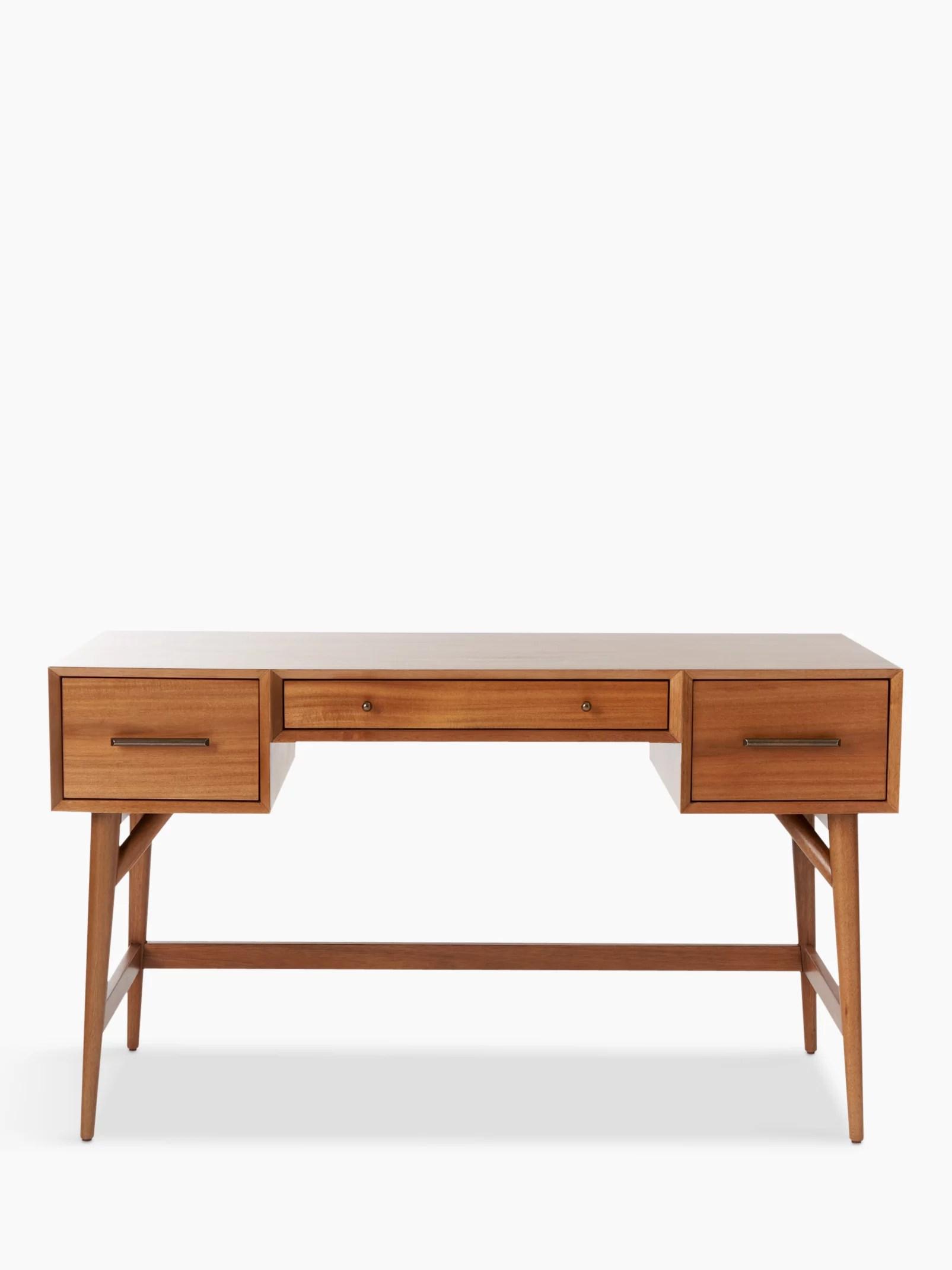 west elm MidCentury Desk Acorn at John Lewis  Partners