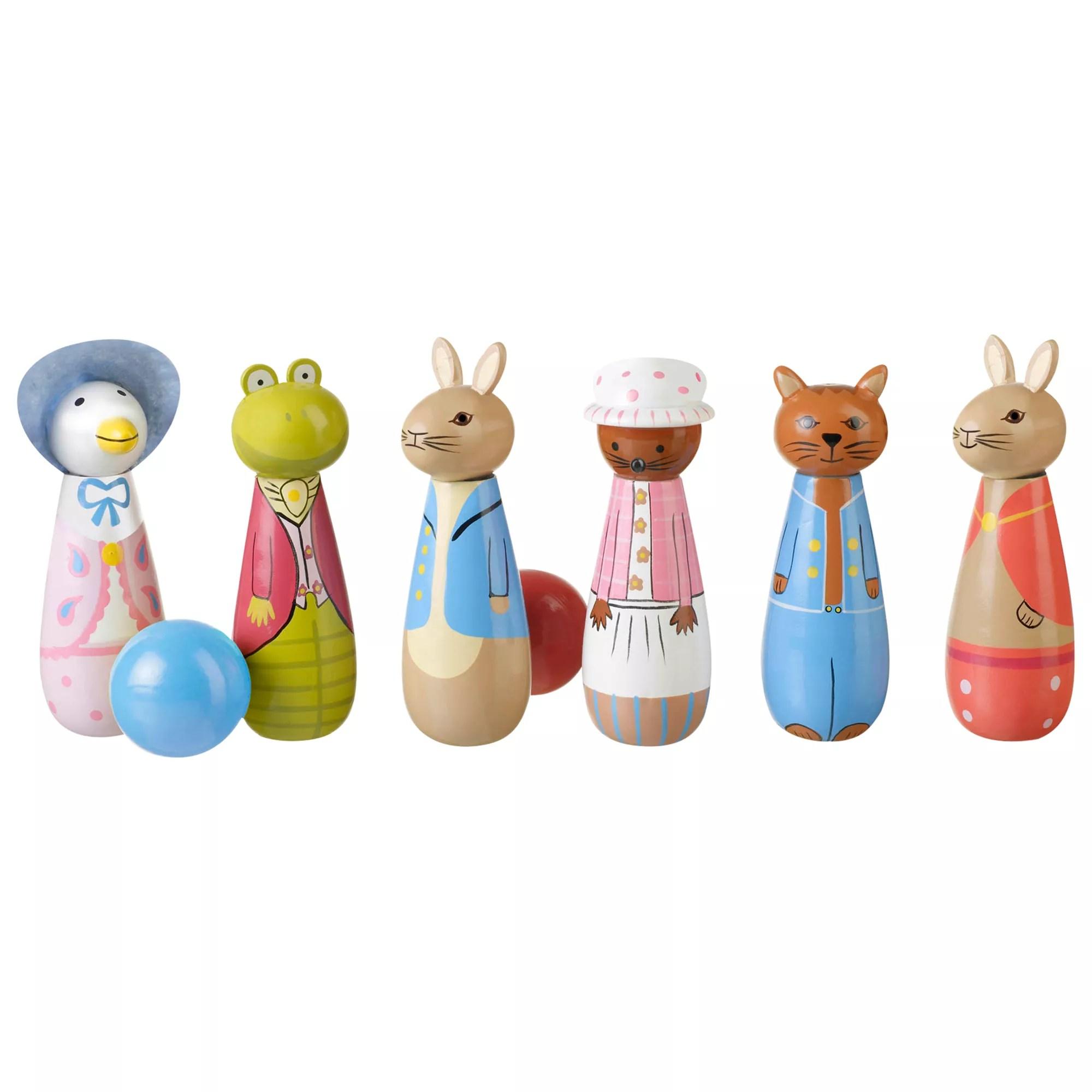 Orange Tree Peter Rabbit Skittles Set At John Lewis