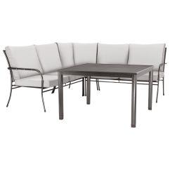 Garden Corner Sofa With Dining Table Removal Edinburgh John Lewis Henley By Kettler 5 Seater