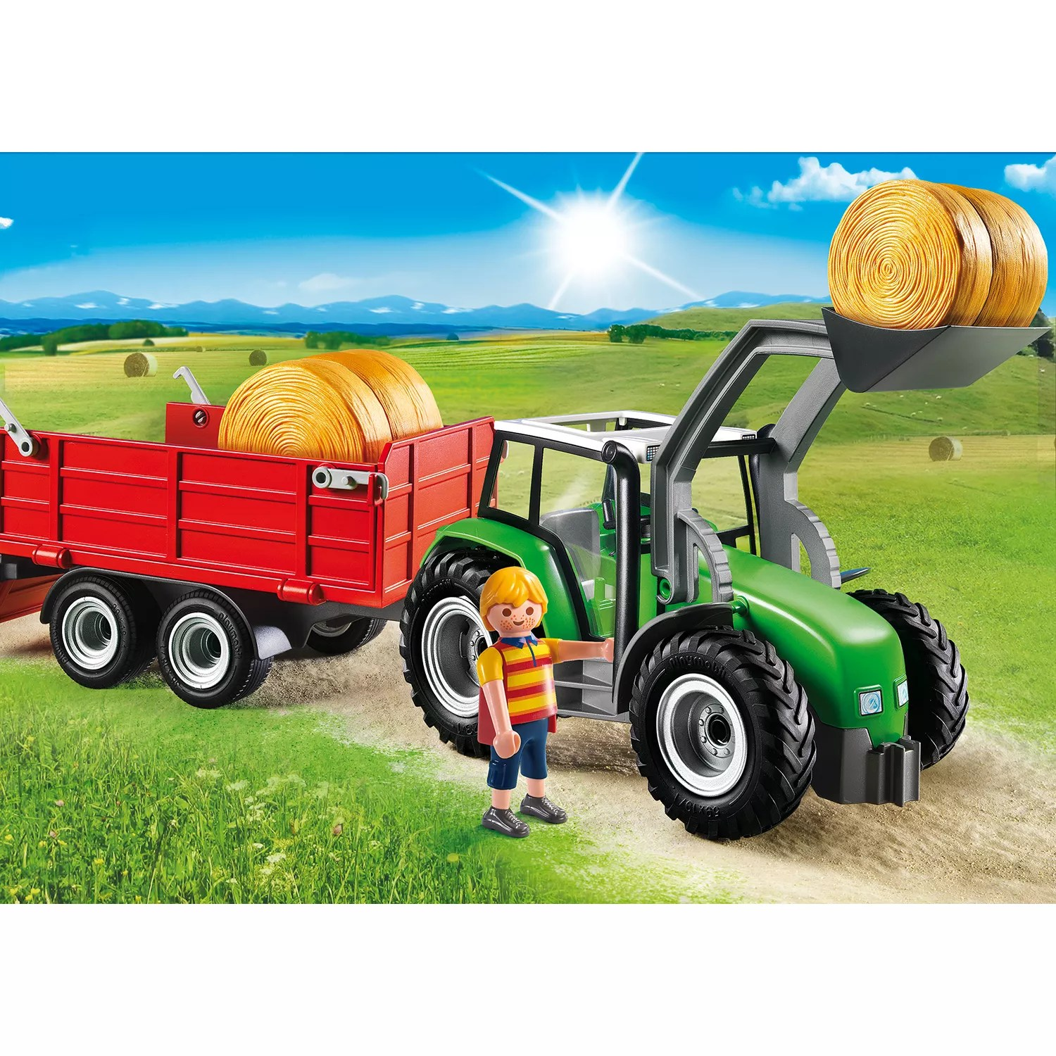 Playmobil Country Farm Large Tractor John Lewis & Partners