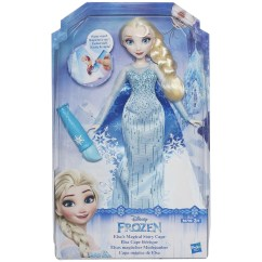 Frozen Flip Sofa Canada Traditional Leather Sofas Disney Elsa Magical Cape Doll At John Lewis Partners Buydisney Online Johnlewis Com