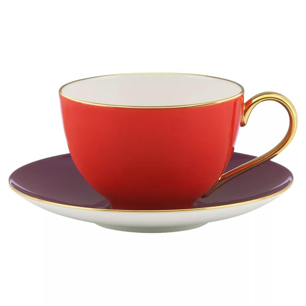 Kate Spade York Greenwich Grove Tea Cup And Saucer John Lewis & Partners
