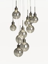Buy John Lewis Dano LED Ombre Glass Ceiling Light, 10