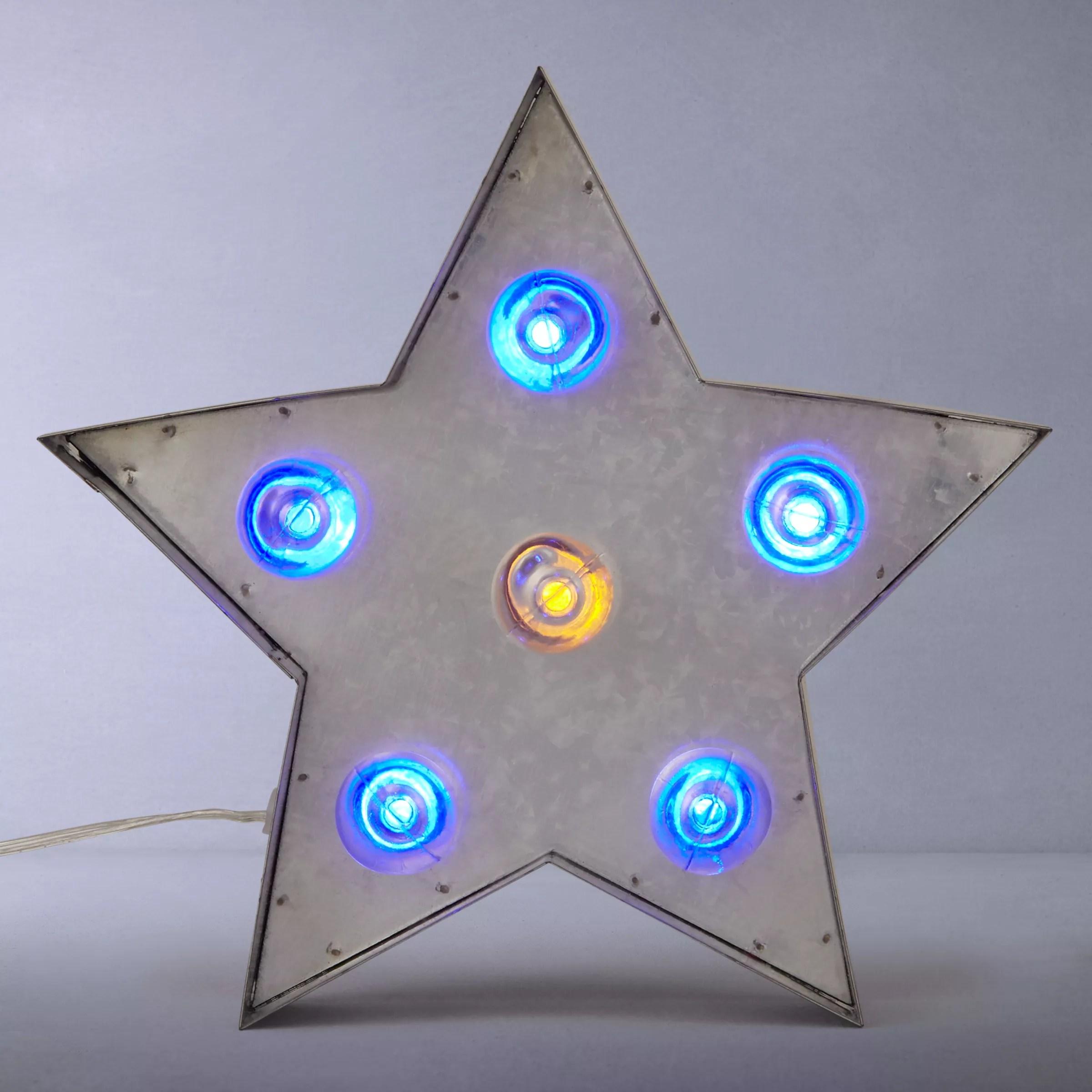 small resolution of buy john lewis rustic galvanised metal led star multi online at johnlewis com