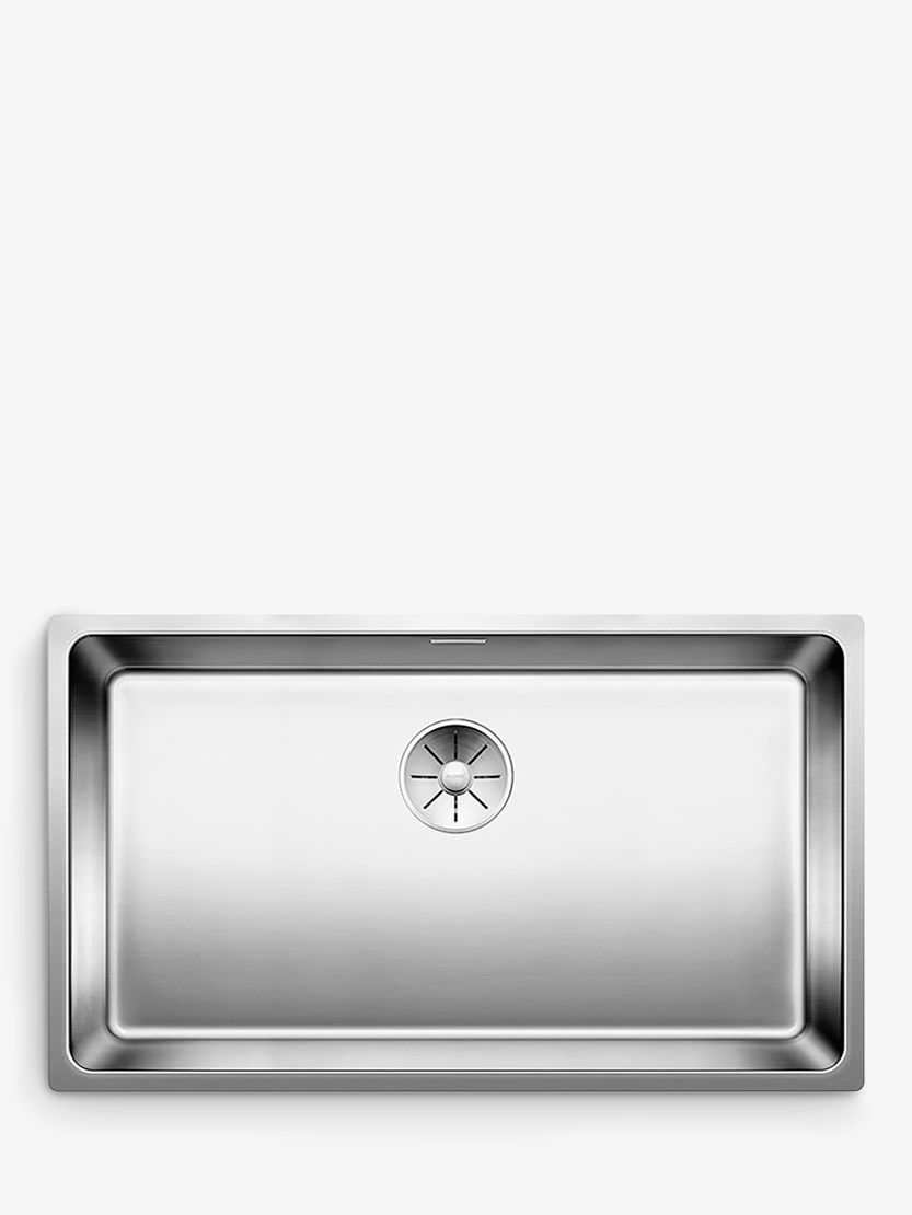 single bowl stainless kitchen sink best countertops for kitchens blanco andano 700 u undermounted buyblanco steel online at johnlewis