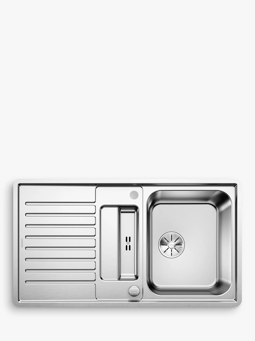 blanco kitchen sink small remodels sinks john lewis partners classic pro 5s if 1 5 bowl inset stainless steel