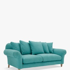 Average Weight Of A Large Sofa Sectional Cleaning Doodler 3 Seater By Loaf At John Lewis Light