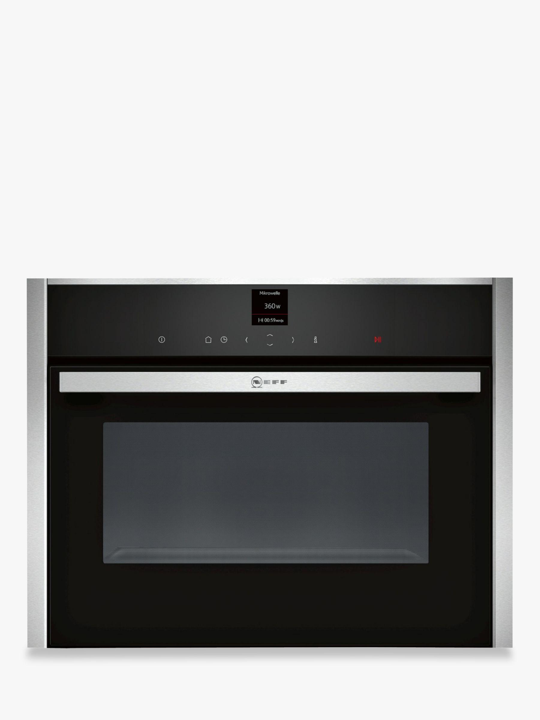 neff c17ur02n0b built in microwave stainless steel