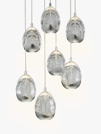 Buy John Lewis Droplet LED Pendant Ceiling Light, 7 Light