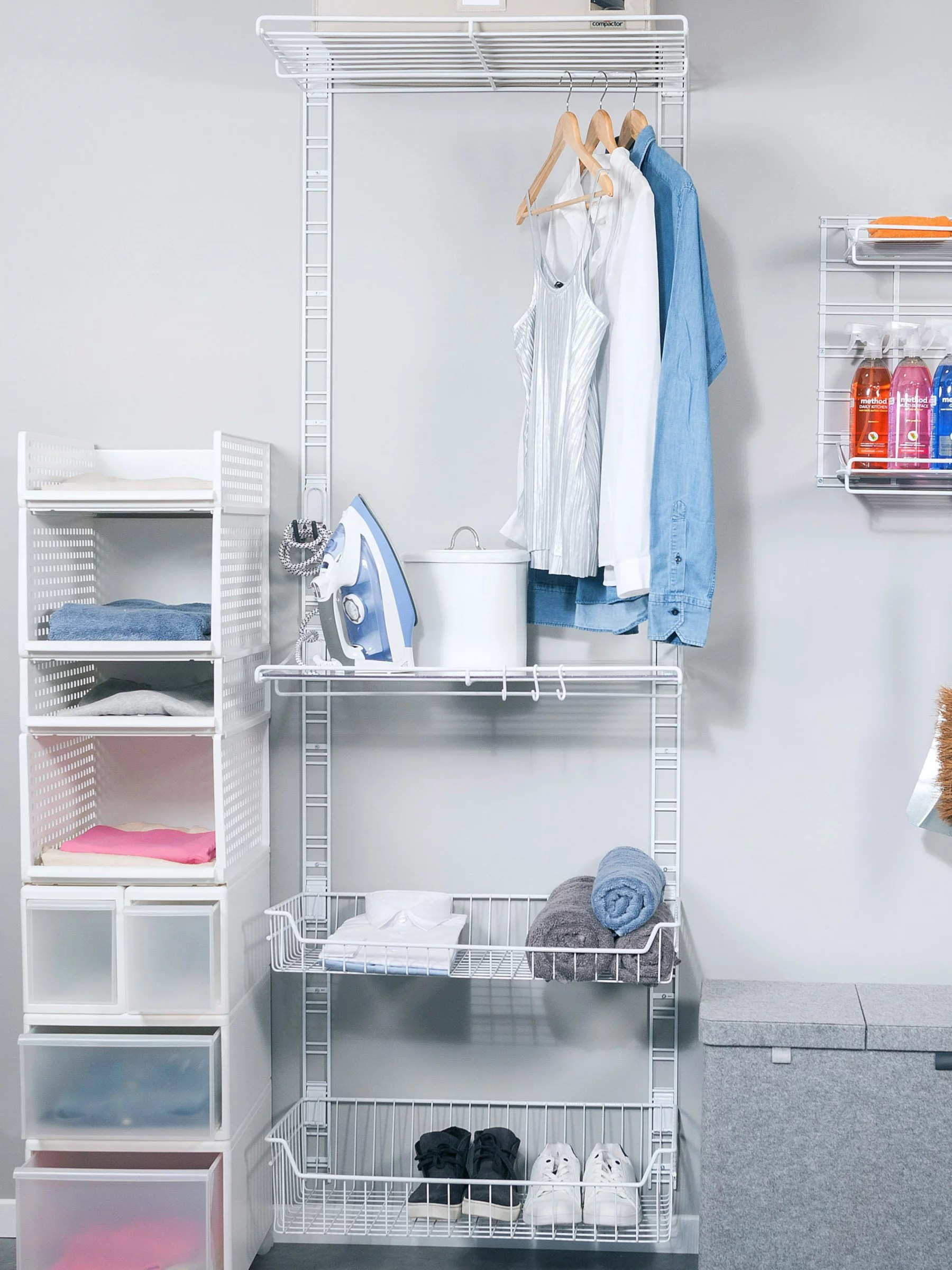 Walltech Storage Laundry Room System John Lewis & Partners