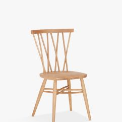 Ercol Chair Design Numbers Rattan Papasan With Cushion For John Lewis Partners Shalstone Dining Oak