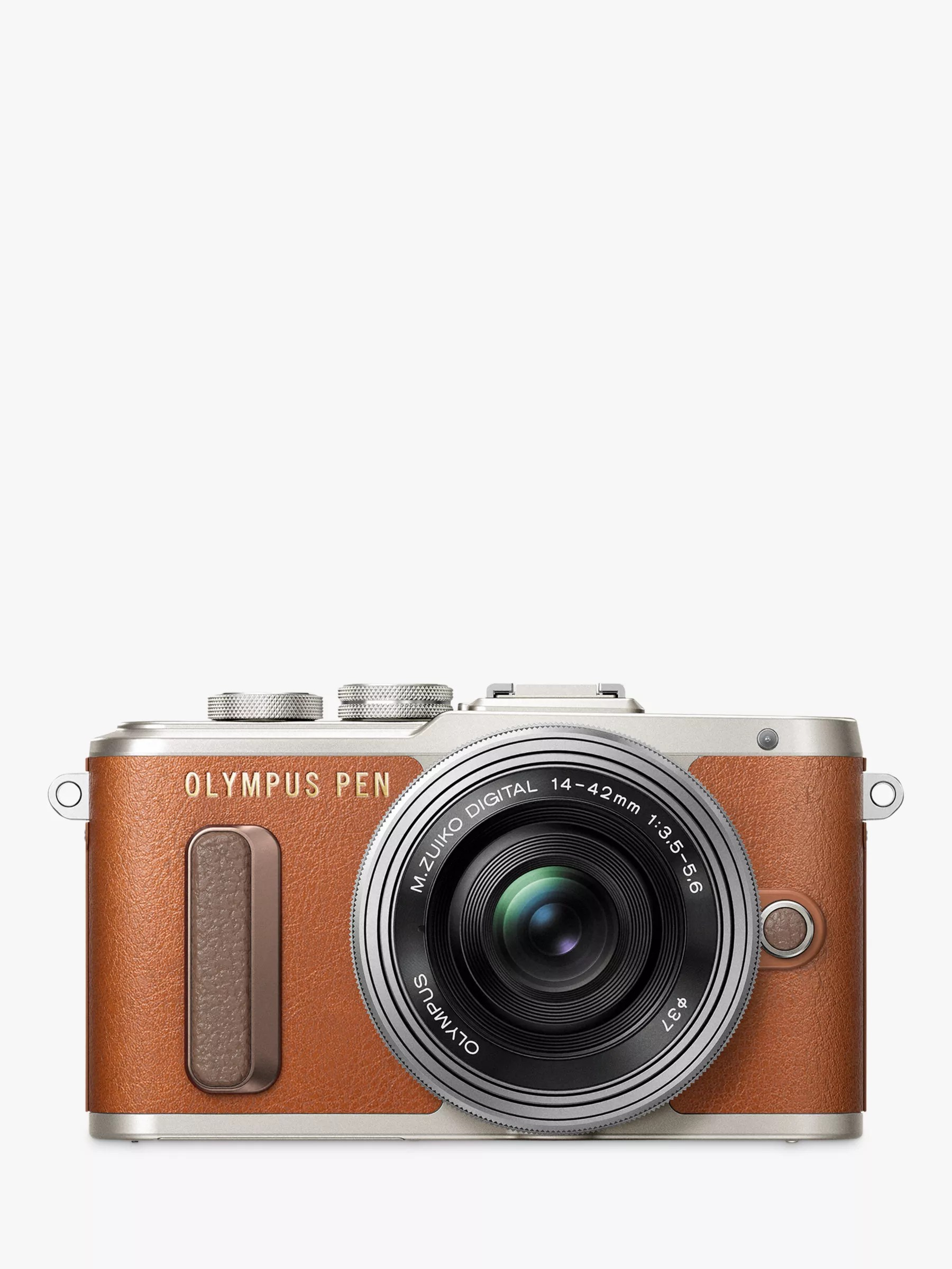 Olympus Pen -pl8 Compact System Camera With 14-42mm Ez Lens Hd 1080p 16.1mp 3