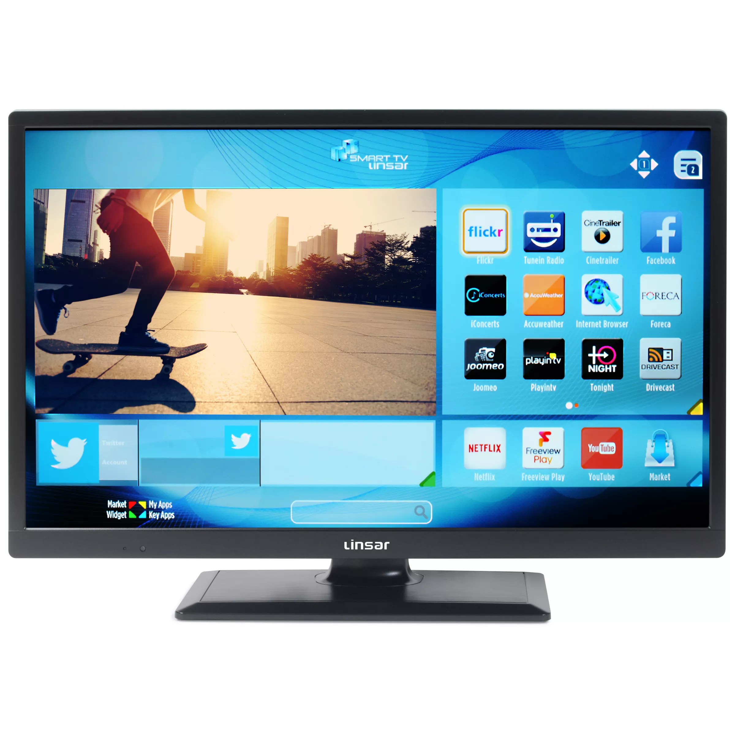 Linsar 24led1700 Led Hd Ready 720p Smart Tv 24