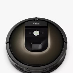 Baby Chair Roomba Makeup Vanity With Back Irobot 980 Robot Vacuum Cleaner Black Brown At