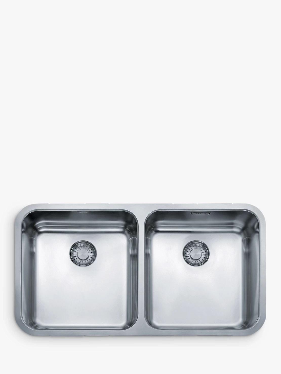 franke largo lax 120 36 36 undermounted 2 bowl kitchen sink stainless steel