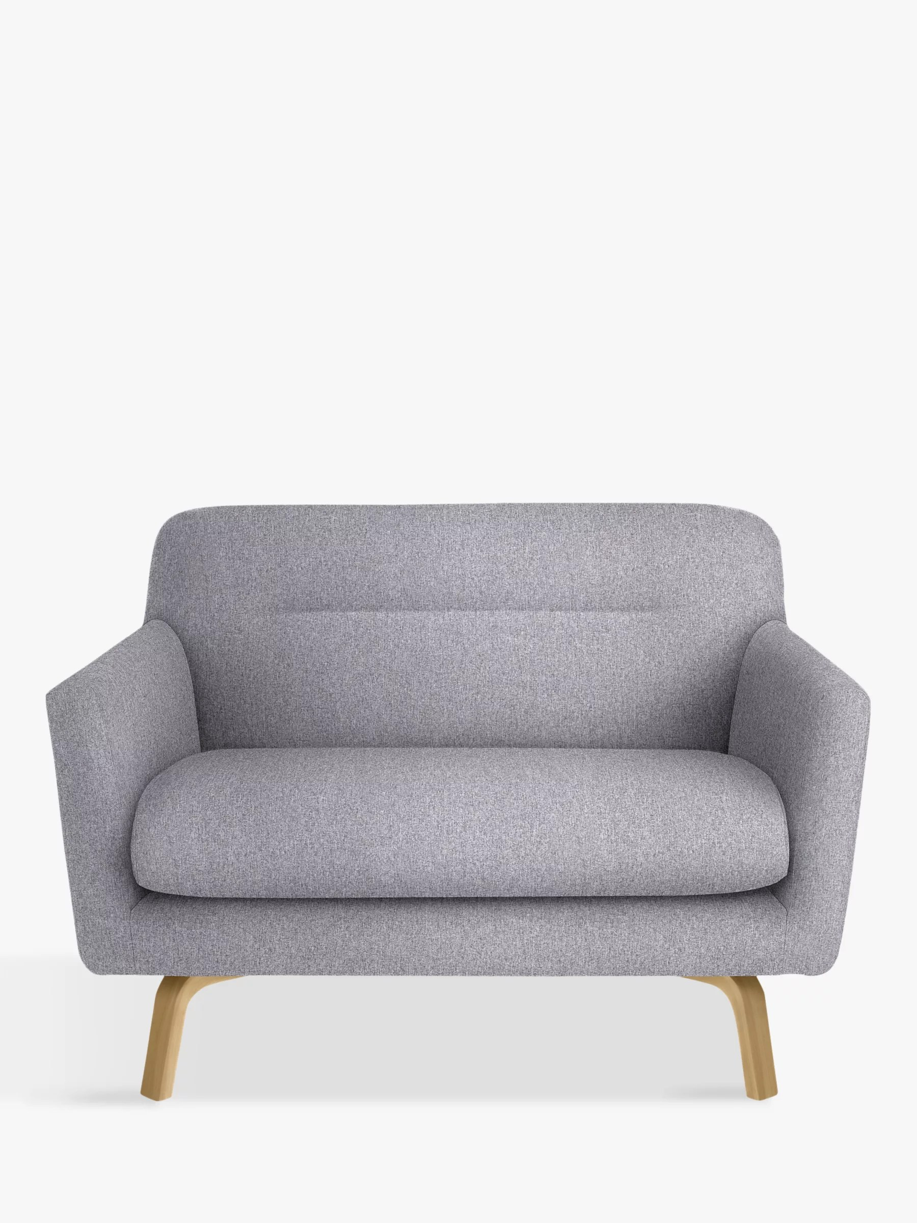 small grey sofa z gallerie craigslist house by john lewis archie 2 seater light leg