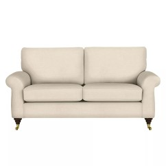 Sofa Legs With Br Castors Leather Futon Bed Costco Hannah John Lewis Home The Honoroak