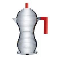 Buy Alessi Pulcina Espresso Maker, 6 Cup, Induction | John ...
