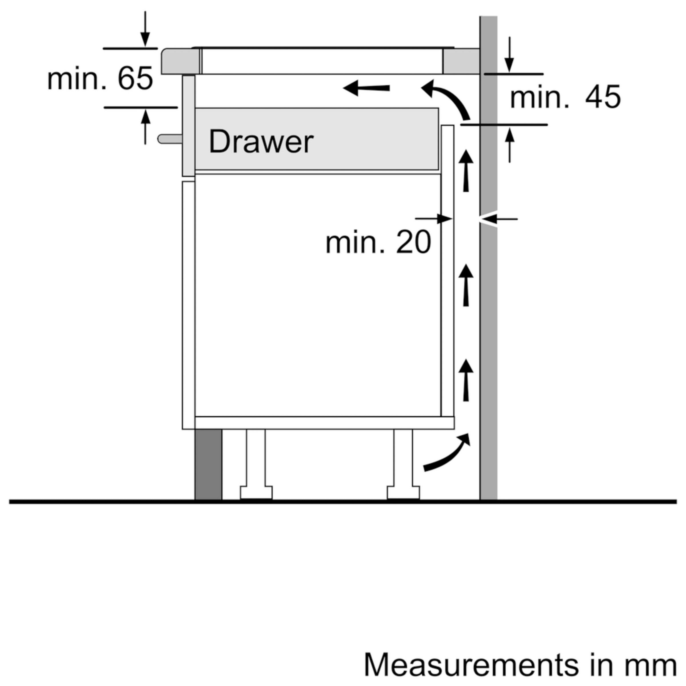 buyneff t46fd53x0 induction hob black glass online at johnlewis com  [ 1440 x 1920 Pixel ]