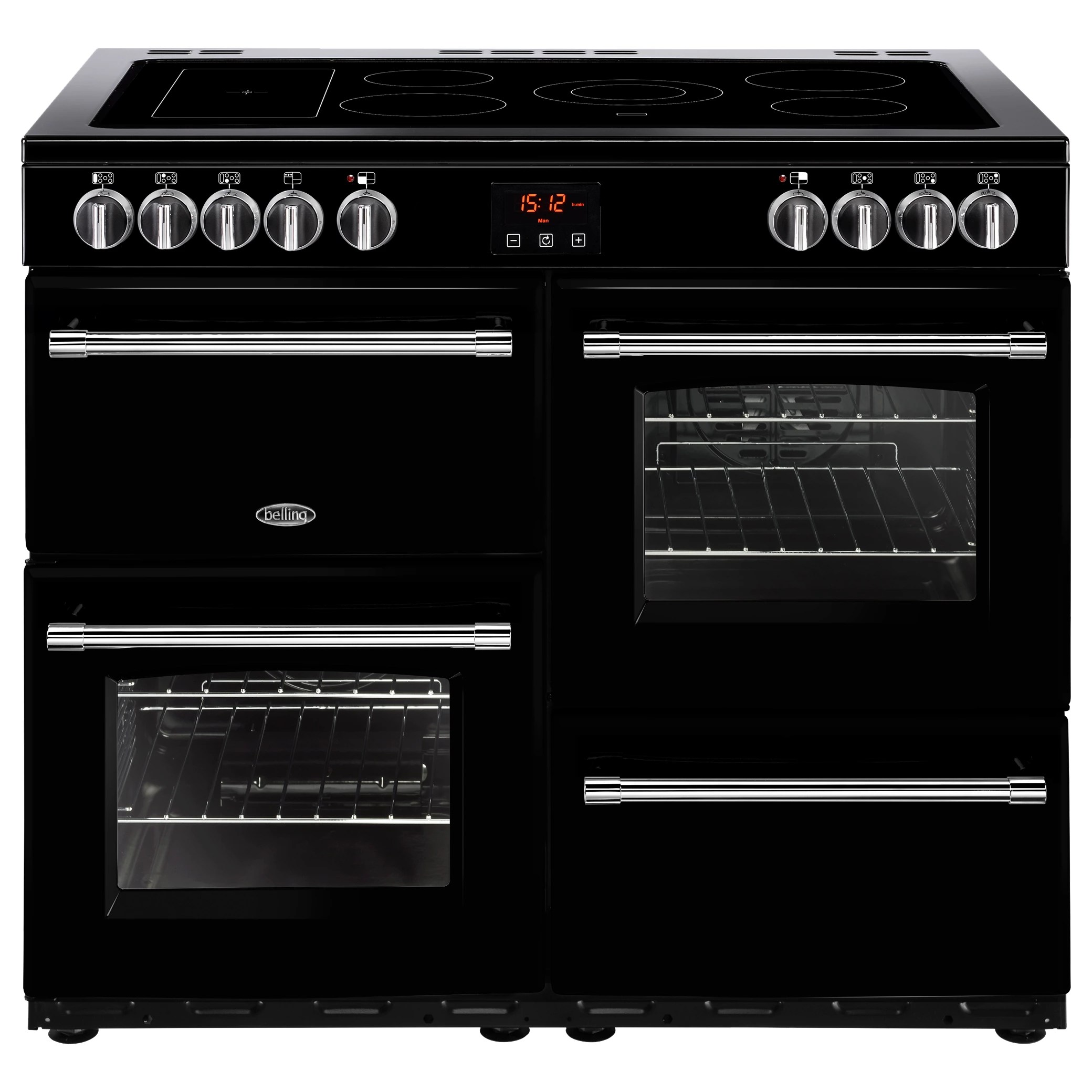 Belling Farmhouse 100E Electric Range Cooker With Ceramic
