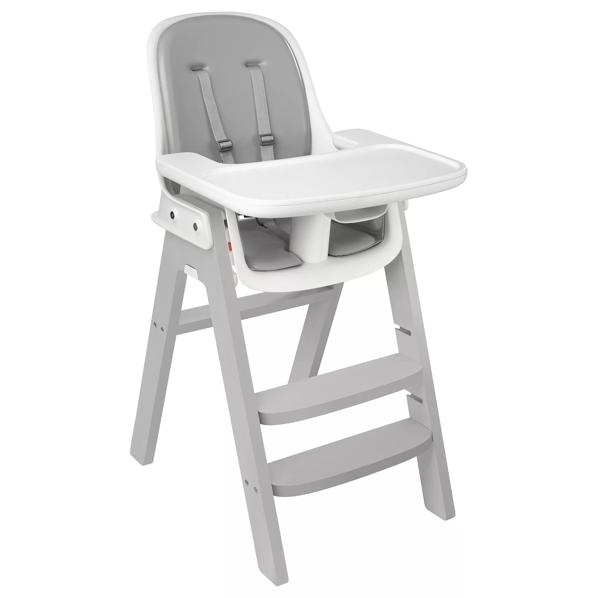 oxo high chair table for kids tot sprout highchair at john lewis partners buyoxo grey white online johnlewis com