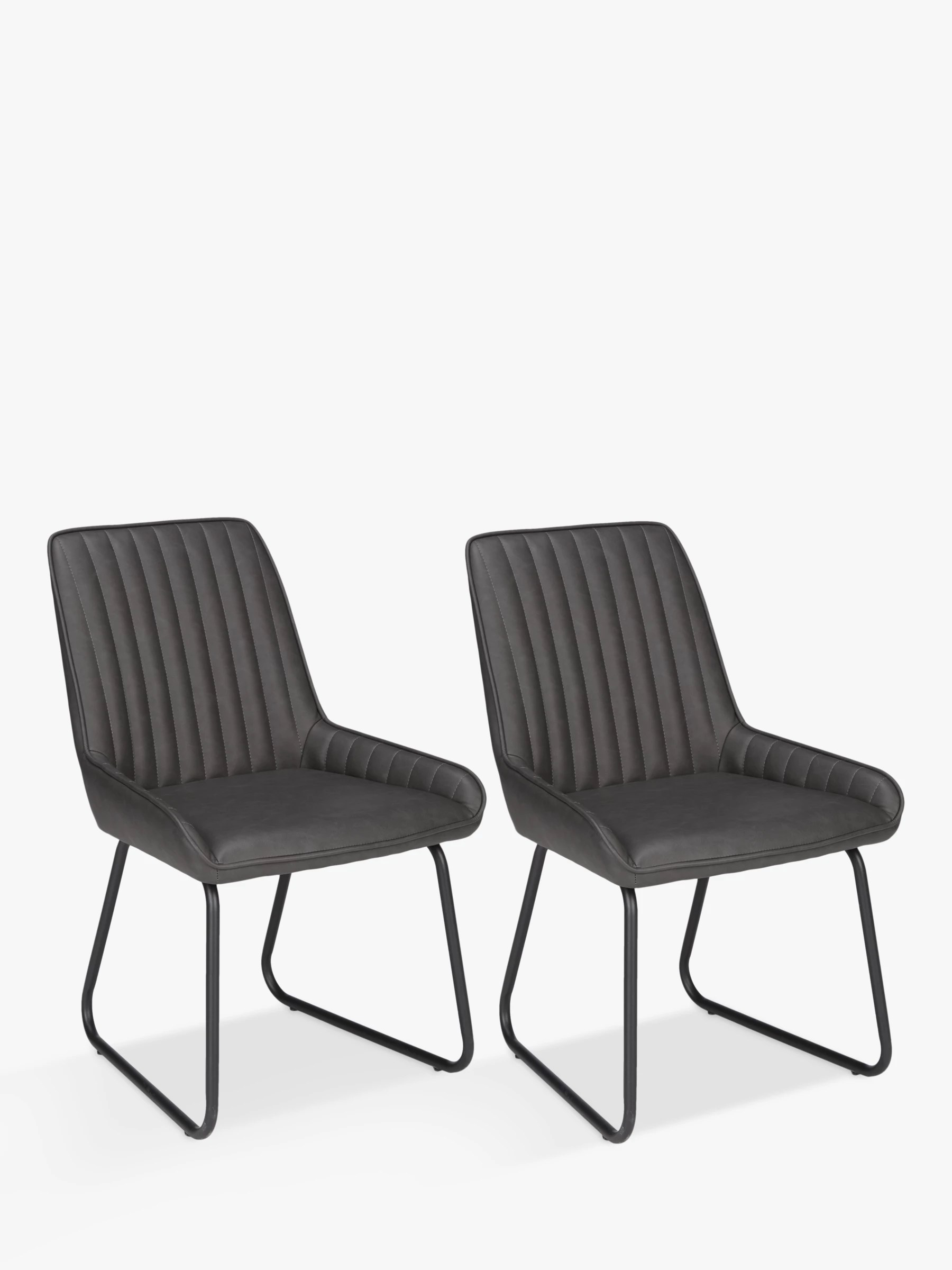 Buy John Lewis Brooks Side Dining Chairs, Set of 2