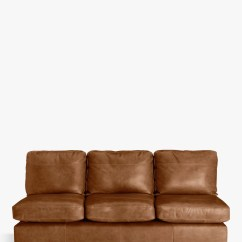 Algarve Leather Sofa And Loveseat Set Bed Corner Unit Sofas Beds John Lewis Partners Oliver Grand 4 Seater Armless Dark Leg Luster