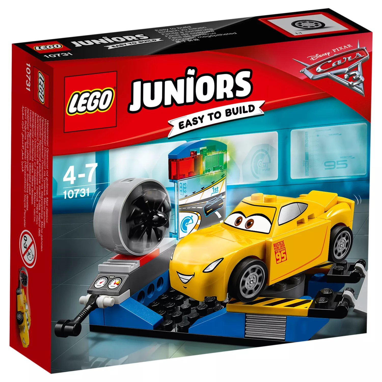 disney cars flip out sofa australia bed sectionals vancouver view all toys john lewis partners lego juniors 10731 pixar 3 cruz ramirez race simulator