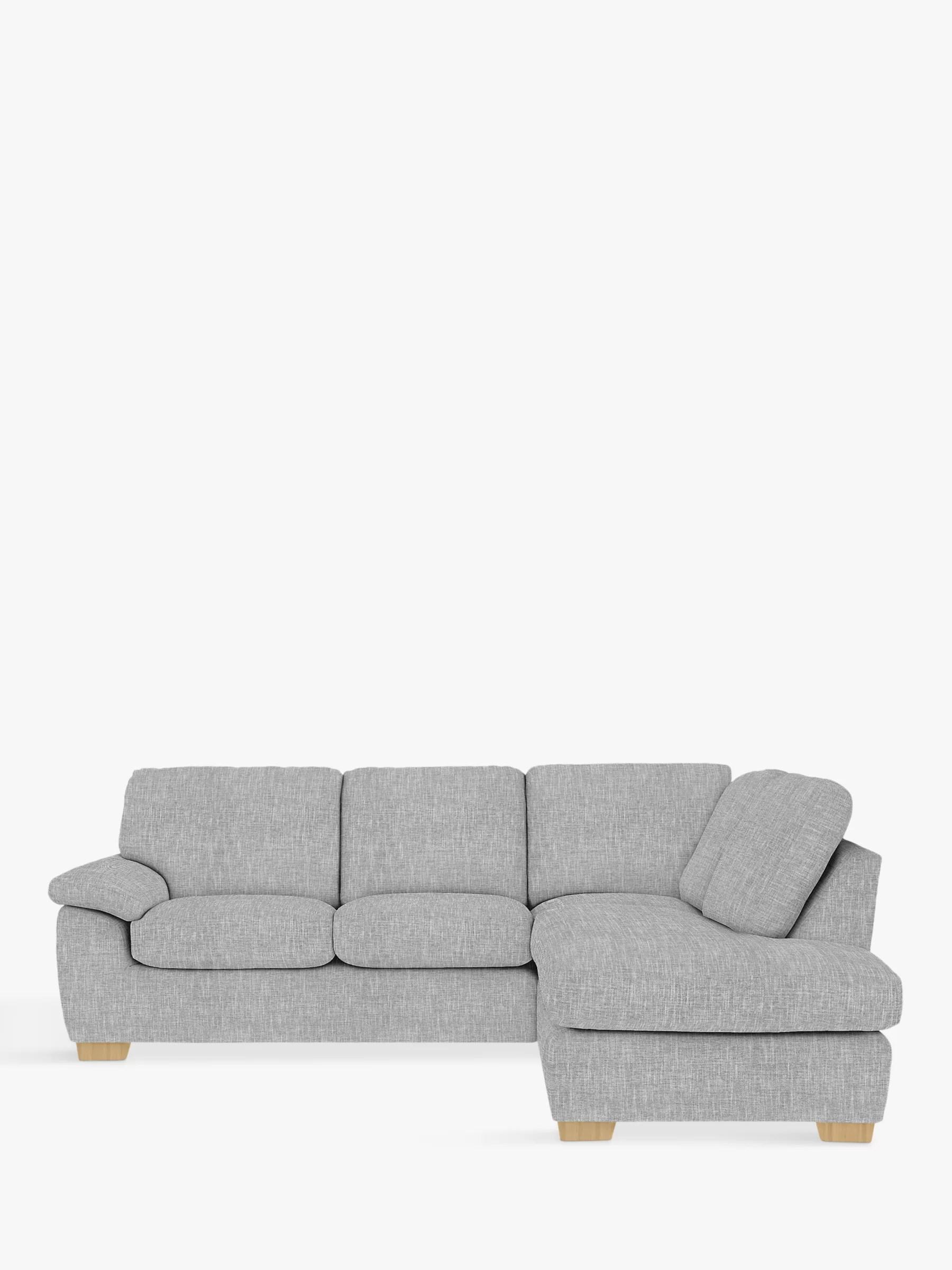 camden sofa john lewis back pillows rhf corner end chaise unit light leg at
