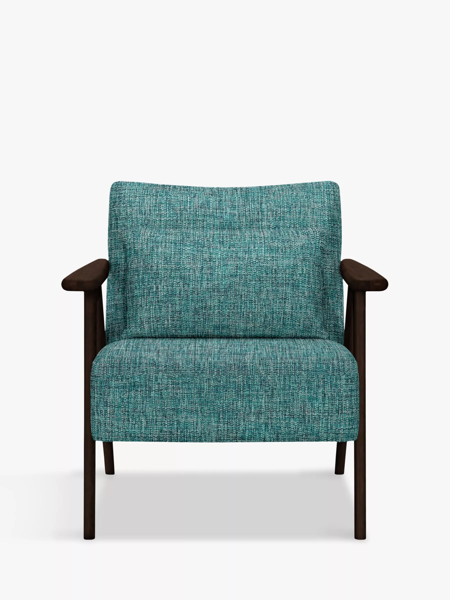dark teal accent chair staples task parts john lewis and partners hendricks wood