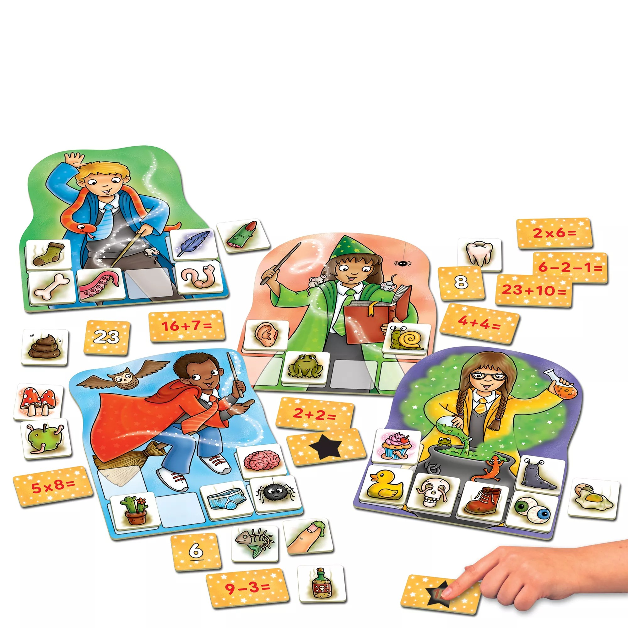 Orchard Toys Magic Maths Numbers Game At John Lewis Partners