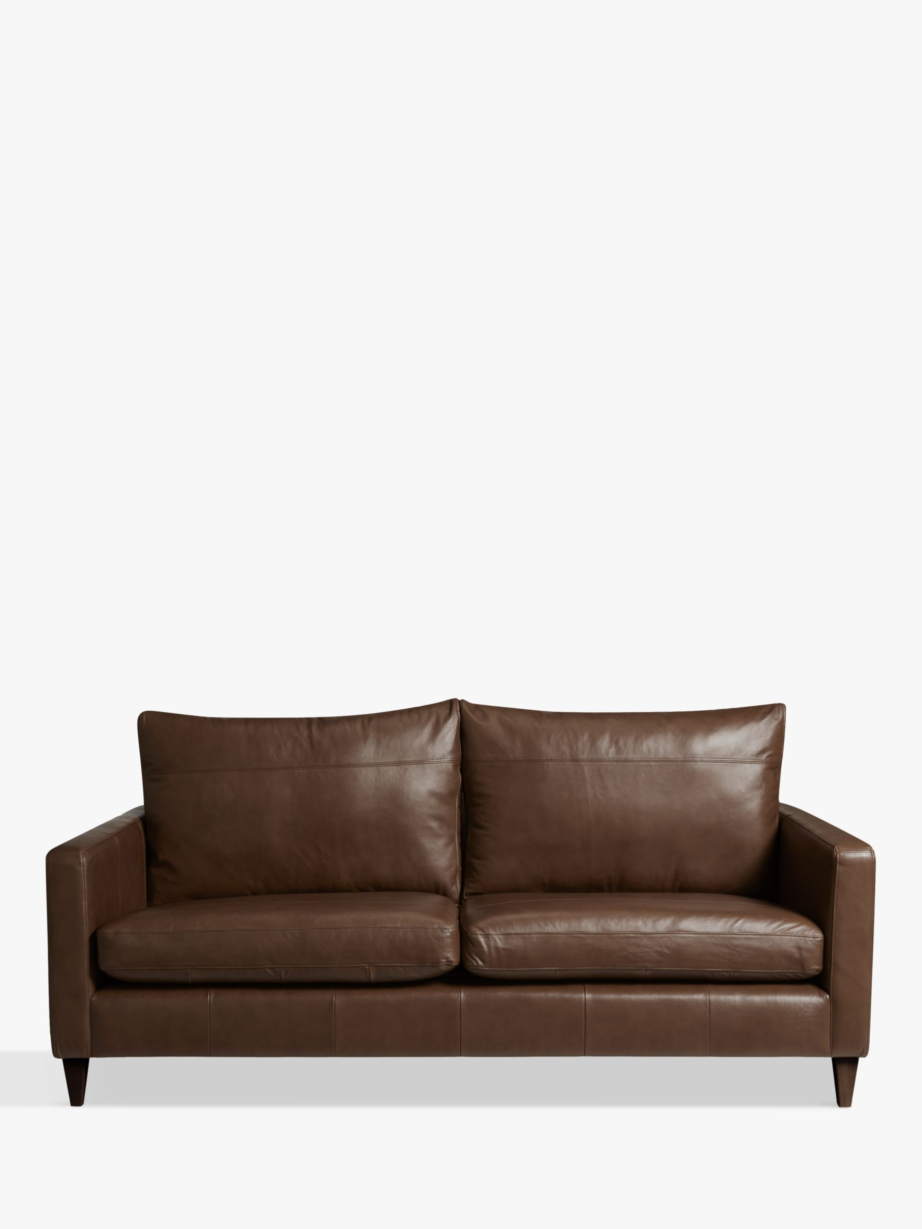 bailey leather sofa bed accent pillows for cream john lewis home the honoroak